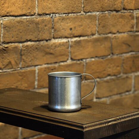 VINTAGE Mug made of stainless steel